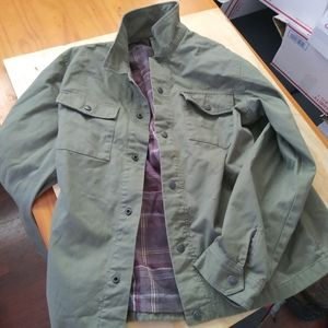 Mens oakley button up jacket medium excellent con.